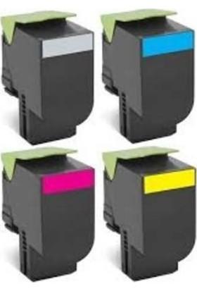 Calligraph Lexmark CX310/410 Sarı Muadil Toner