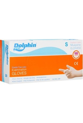 Dolphin Lateks Eldiven Pudrasız Küçük (S) - 100'LÜ