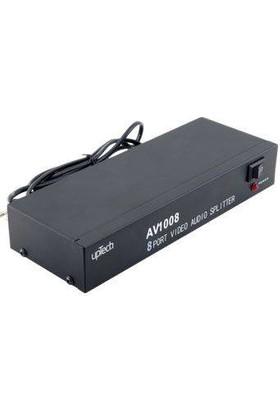 Uptech AVI-008 8 Port Audio Video Dağıtıcı