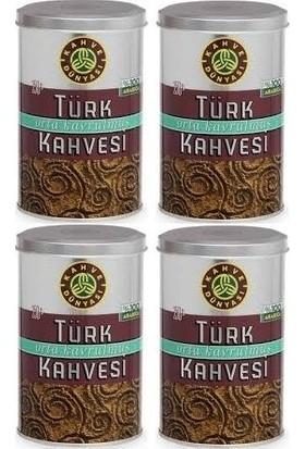Kahve Dünyası Türk Kahvesi Orta Kavrulmuş 250 gr (4'lü)