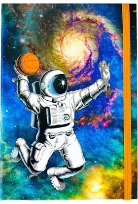 Favorim50Ton Lastikli Orta Boy Defter - Smaç Astronot