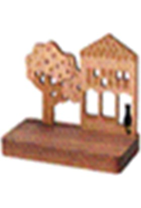 Wooderful Life Ahşap Kartvizitlik Kendin Yap Dekor - 1283901