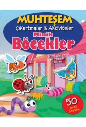 Minik Böcekler - Muhteşem Çıkartmalar - The Book Company