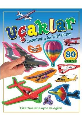 Uçaklar - Çıkartma Aktivite Kitabı - Pıtchall - Gunzıe