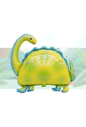 Ohlala Party Dev Boyutta Yeşil Dinozor Folyo Balon