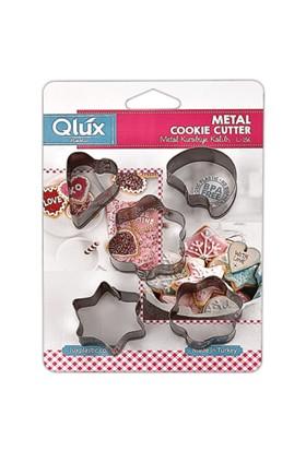 Qlux Qlüx 00156 Metal Bisküvi Kalıbı