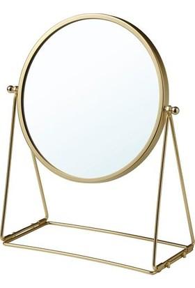 İkea Gold Dekoratif Masa Aynası, Altın Rengi