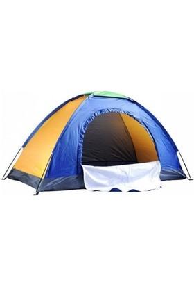 Sealife 4 Kişilik Manuel Kurulum Kamp Çadırı