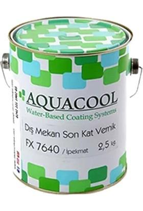 Aquacool Su Bazlı Dış Mekan Ipekmat Vernik FX7640 2.5 kg