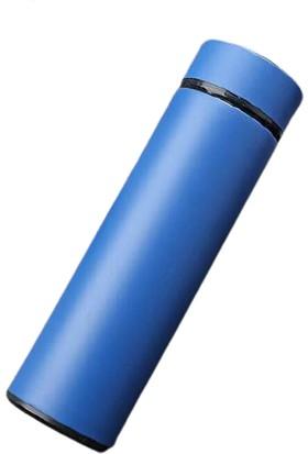 Onetick D8 LED Sıcaklık Göstergeli Çelik Termos 500 ml Mavi
