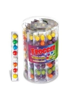 Saadet Frogger 8'li Top Meyveli Sakız 42'li Set