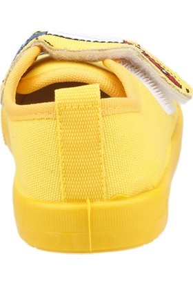 Sanbe 106P 106 Okul Kreş İşıklı Erkek Çocuk Keten Panduf Ayakkabı