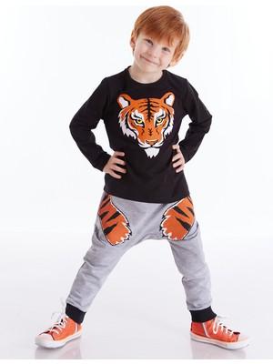 Denokids Kaplan Pençesi Erkek Çocuk Pantolon Takım