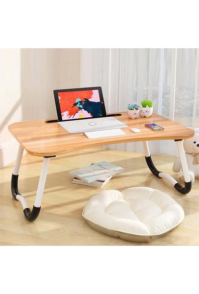 Hodbehod Yatak Koltuk Üstü Laptop Masası - Ceviz