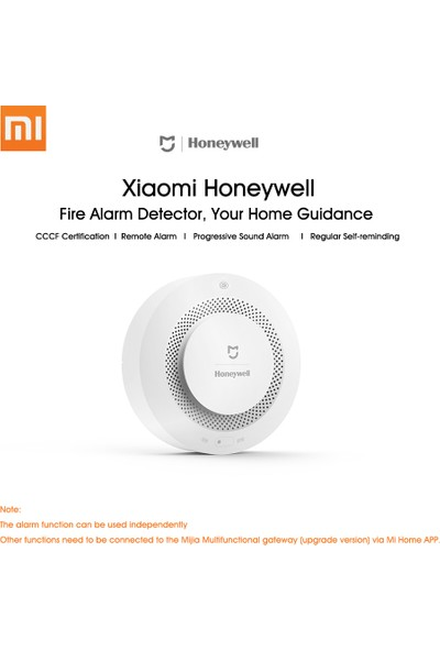 Honeywell Doğal Gaz Algılama Alarm Cihazı (Yurt Dışından)