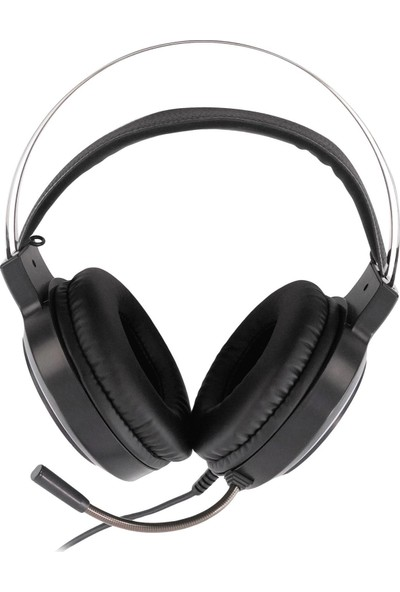 MF Product Strike 0600 RGB Kablolu Kulak Üstü Oyuncu Kulaklığı 7.1 USB Siyah