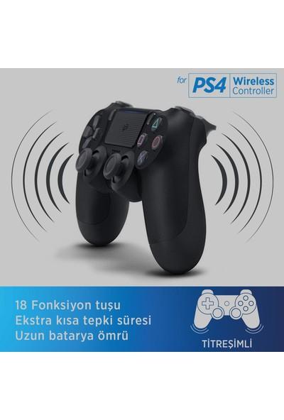 Polosmart PSG05 Kablosuz Ps4 Oyun Kolu Siyah