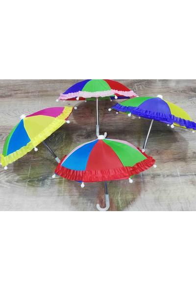 Skygo Ufak Dekorasyon Şemsiyesi Gökkuşağı