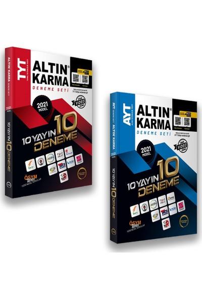 Altın Karma 2021 TYT AYT 10 Farklı Yayın 10 Deneme Seti