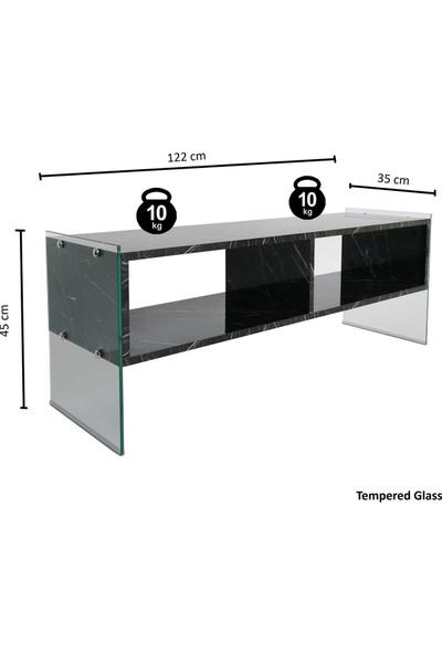 Neostill - Majör Tv Sehpası Siyah 120 cm TV402