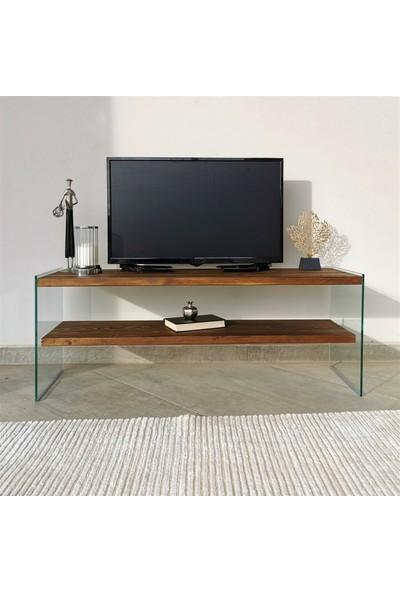 Neostill - Ahşap Tv Ünitesi Woodn Glass TV105