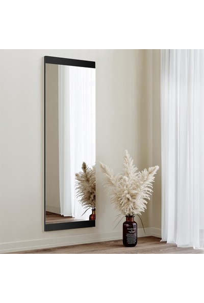 Neostill - Boy Aynası Dekoratif Basic Siyah 40X120