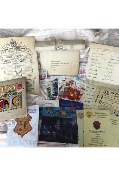 Harry Potter Hogwarts'a Davet Mektup Seti