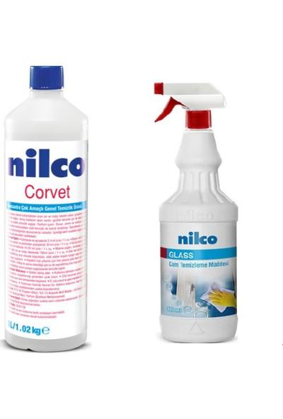 Nilco Genel Temizlik Paketi Corvet Konsetre Çok Amaçlı 1,8 kg