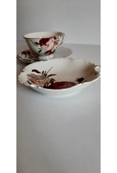 Bernardo Porselen Çay Fincanı ve Sunumluk Özel Seri Luxury Set
