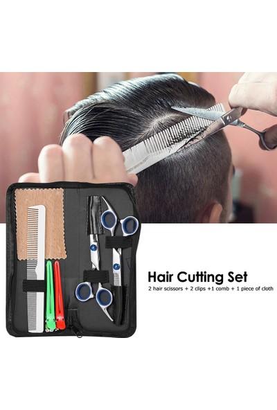 Buyfun Profesyonel Saç Kesme Makas Seti Berber Makası Saç