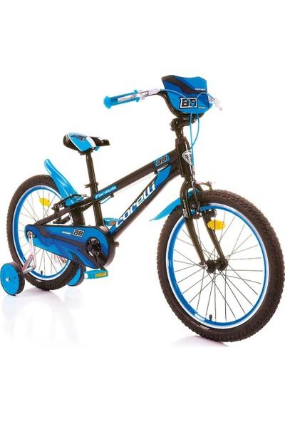 Corelli Formula 20 Jant Erkek Çocuk Bisikleti Siyah Mavi