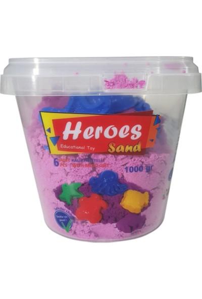 Hero Kinetik Kum 1000 gr Kovalı ve Kalıplar
