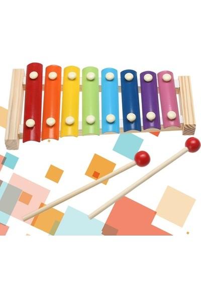 Happy Toys Ahşap Xylophone