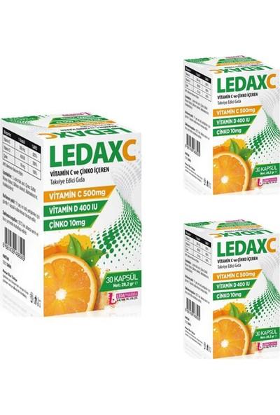 Ledapharma Ledax C 30 Kapsül x 3 Adet