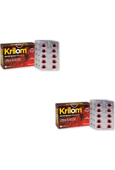 Tab İlaç Krilom Ultra Krill Oil 30 Kapsül x 2 Adet