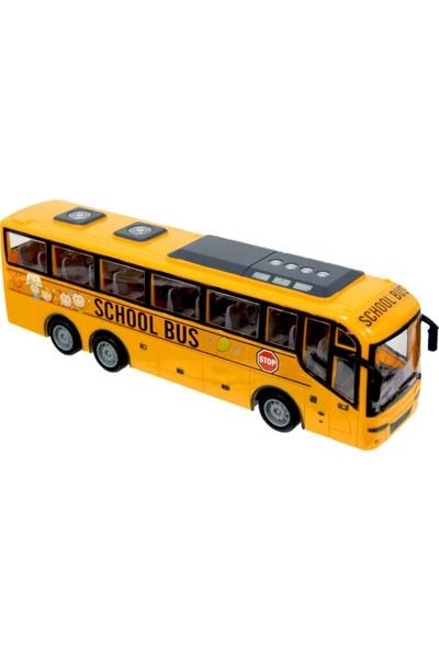 Meva Okul Otobüsü Uzaktan Kumandalı Full Fonksiyonlu School Bus