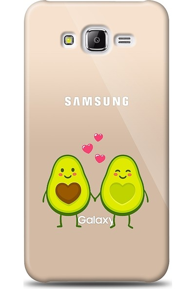 Eiroo Samsung Galaxy J5 Avocado Lover Baskılı Tasarım Kılıf
