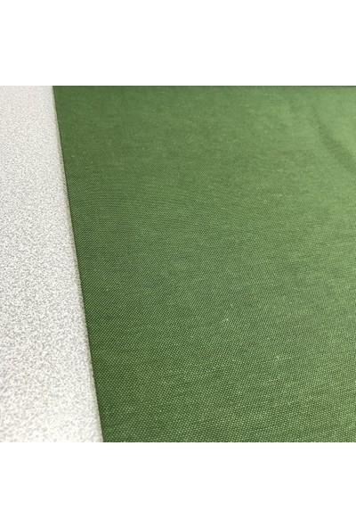 Kumaş Home Leke Tutmaz Su Itici Döşemelik Duck Keten Eni 180 cm Koyu Yeşil