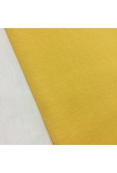Kumaş Home Dertsiz Leke Tutmaz Su Itici Döşemelik Duck Keten Eni 180 cm Sarı