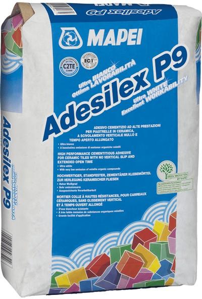 Mapei Adesilex P9 Gri Seramik Karo ve Taş Malzeme Için Yapıştırıcı