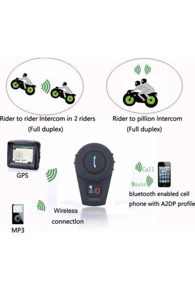 Okmore Fdc-Vb Bluetooth Interkom Motosiklet Kask Kulaklığı