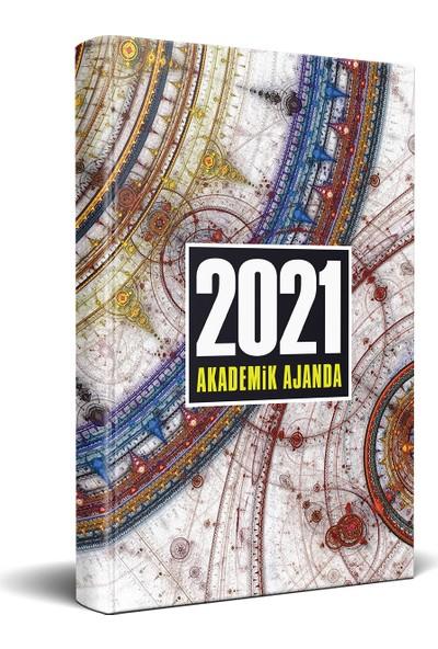 Halk Kitabevi 2021 Pusula Desenli Akademik Ajanda 13,5 x 21 cm