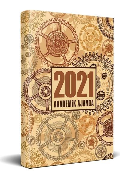 Halk Kitabevi 2021 Da Vinci Akademik Ajanda 13,5 x 21 cm