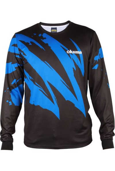 Okuma Motif Long Sleeve Shirt