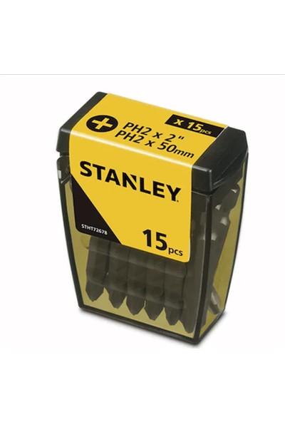 Stanley 15 Adet Ph2 Vidalama Uç 50 mm Bits Uç STHT72678-8