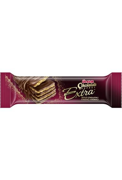 Ülker Çikolatalı Gofret Extra Sütlü-Fındıklı 45 gr
