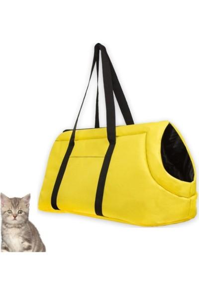 Tropheus Çanta Kedi Çantası Kedi Taşıma Seyahat Omuz Evcil Hayvan Çantası Kalın El Tutamaçlı