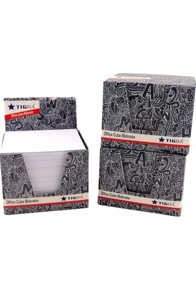 Tigra 7X8CM Ebat 500'LÜ Küp Blok Beyaz 3 Adet