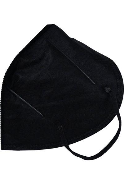 3nnn N95 / Ffp2 Siyah Full Ultrasonic Maske 5' li