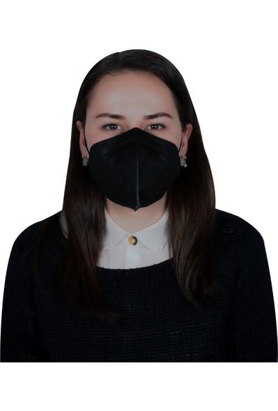 3nnn N95 / Ffp2 Siyah Full Ultrasonic Maske ( 10 Adet )